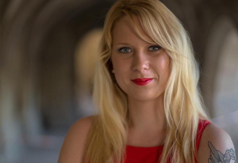 Hochzeitssangerin Tanja Hamleh Zur Trauzeremonie In Mannheim